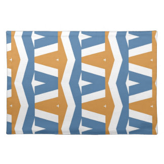 Abstract Zigzag Place Mats