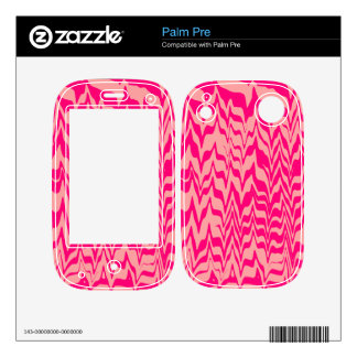 Abstract Zigzag Decal For Palm Pre