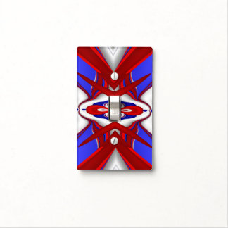 Abstracta-Straggling A - Light Switch Cover