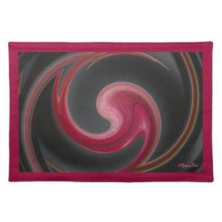 """""""abstractamente"""" a través de mysteryella manteles individuales"""