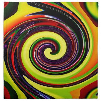 Abstractamente en perfección 24 servilletas imprimidas