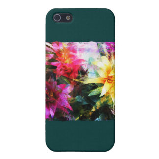 Abstracted Bromeliads Cover For iPhone SE/5/5s
