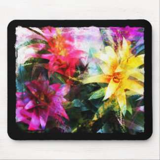 Abstracted Bromeliads Mouse Pad
