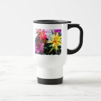 Abstracted Bromeliads Mug