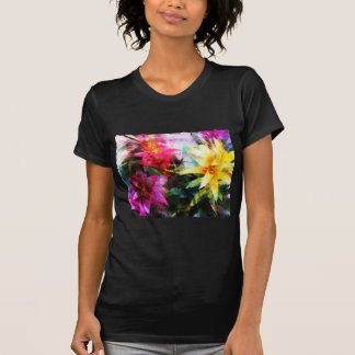 Abstracted Bromeliads T Shirt