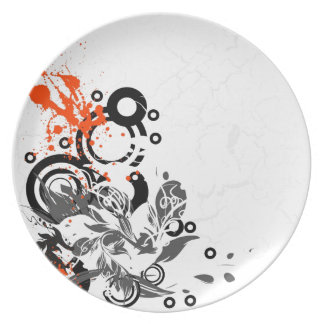 Abstracted Dinner Plates
