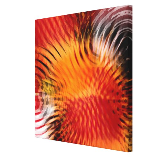 Abstracted Gallery Wrapped Canvas