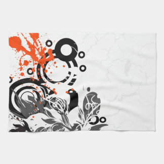 Abstracted Hand Towels