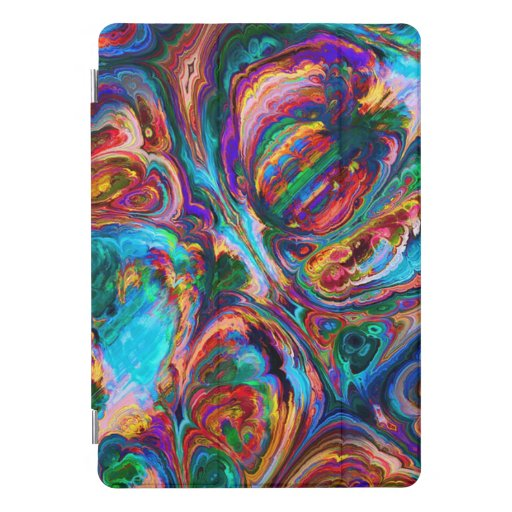 Abstracted Stained Glass iPad Pro Cover