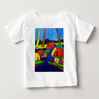 Abstracted Waterfalls A5 Baby T-Shirt