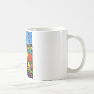 Abstracted Waterfalls A5 Coffee Mug