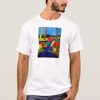 Abstracted Waterfalls A5 T-Shirt