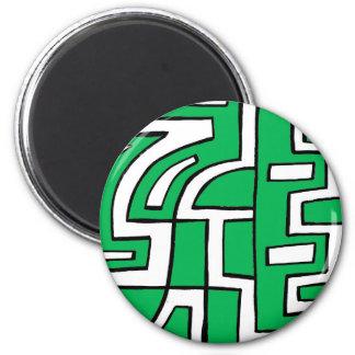 ABSTRACTHORIZ (648).jpg 2 Inch Round Magnet