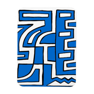 ABSTRACTHORIZ (648).jpg Rectangular Photo Magnet