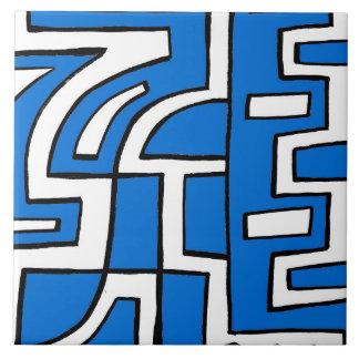 ABSTRACTHORIZ (648).jpg Large Square Tile