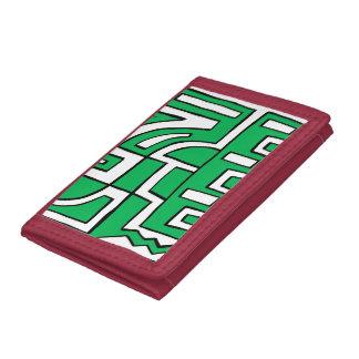 ABSTRACTHORIZ (648).jpg Trifold Wallet