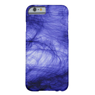 Abstraction Art Blue Haze Barely There iPhone 6 Case
