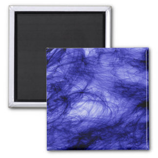 Abstraction Art Blue Haze Magnet