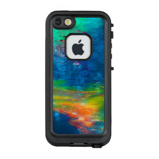 Abstraction Art Colorful Water Reflections LifeProof FRĒ iPhone SE/5/5s Case