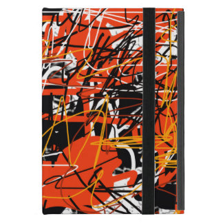 abstraction art iPad mini cover