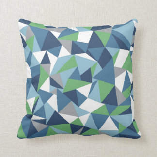Abstraction Blue Green Pillows