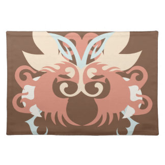 Abstraction Five Tlaloc Cloth Placemat