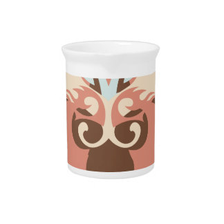Abstraction Five Tlaloc Drink Pitcher
