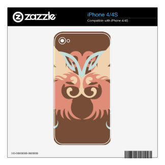 Abstraction Five Tlaloc iPhone 4 Decal