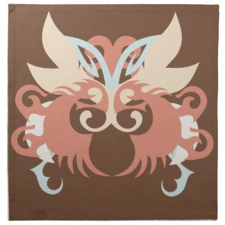 Abstraction Five Tlaloc Napkin