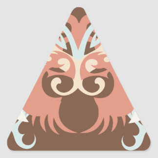 Abstraction Five Tlaloc Triangle Sticker