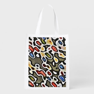 ABSTRACTION GROCERY BAG