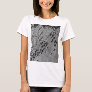 abstraction in black and white T-Shirt
