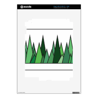 Abstraction of Green Grass Decals For iPad 2