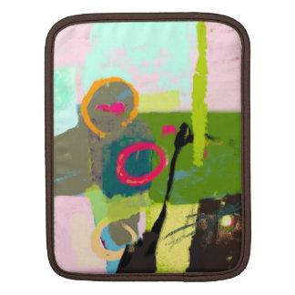Abstraction of my imagination iPad sleeve