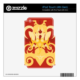 Abstraction One Osiris Decals For iPod Touch 4G