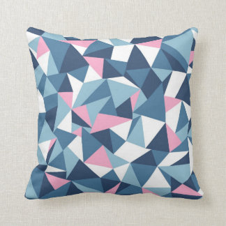 Abstraction Pink Throw Pillow