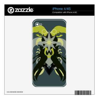 Abstraction Seven Loki Decals For iPhone 4S