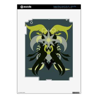 Abstraction Seven Loki iPad 3 Skins