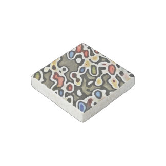 ABSTRACTION STONE MAGNET