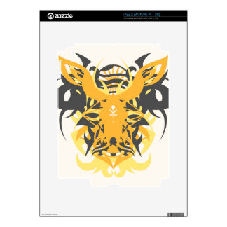 Abstraction Ten Nemesis Decal For The iPad 2