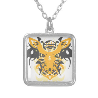 Abstraction Ten Nemesis Silver Plated Necklace