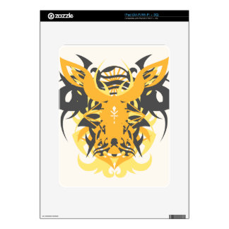 Abstraction Ten Nemesis Skins For iPad