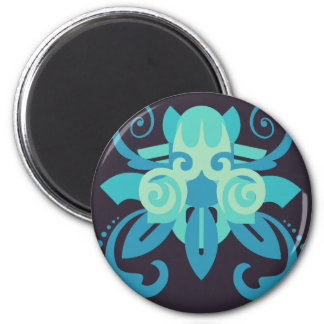 Abstraction Two Poseidon Magnet