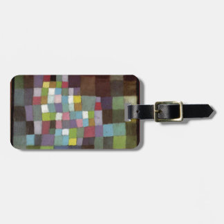 Abstraction with Reference to a Flowering Tree by Luggage Tag