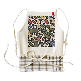 ABSTRACTION ZAZZLE HEART APRON