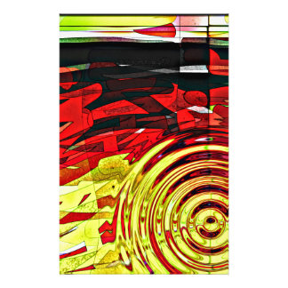 Abstractions mind stationery