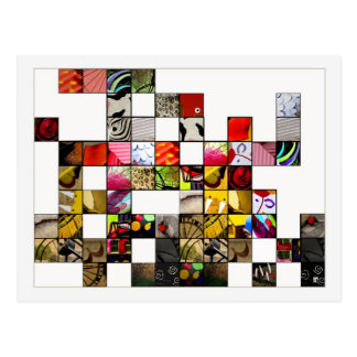 Abstractions Postcard