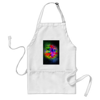 Abstractly in perfection 11 standard apron