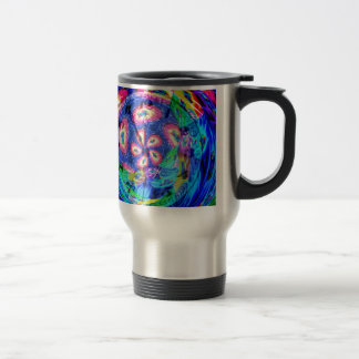 Abstractly in perfection 22 travel mug