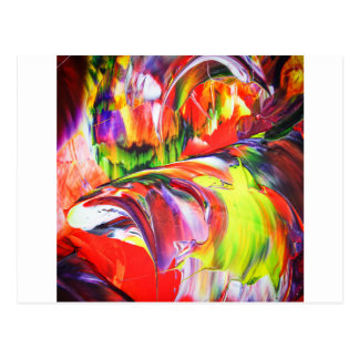 Abstractly in perfection 6 postcard